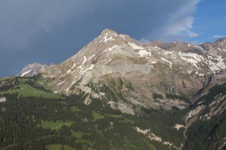 spitzhorn: Spitzhorn, beautiful mountain near Gstaad