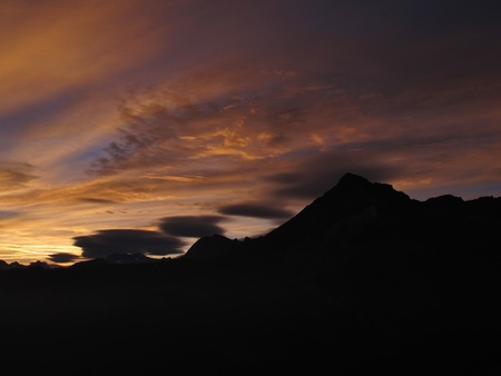 Sunrise in Gsteig bei Gstaad
