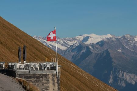 bernese oberland: Terrace on the Brienzer Rothorn, Bernese Oberland