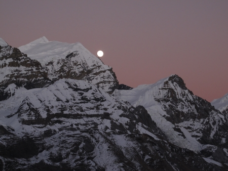 nightfall: Nightfall in the Himalayas