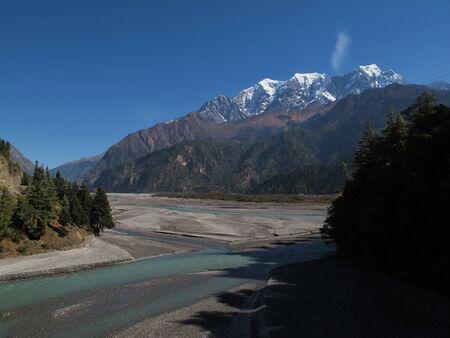 kali: Nilgiri and Kali Ghandaki River, Nepal
