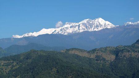 snow capped: Nieve tapado Annapurna Range