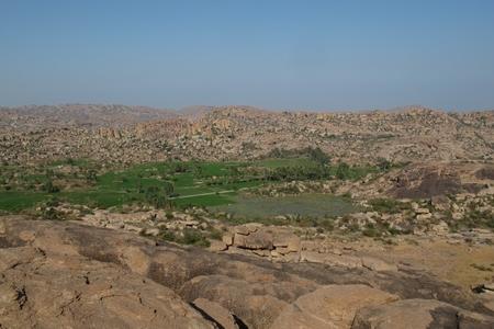 karnataka: Paisaje en Karnataka, India