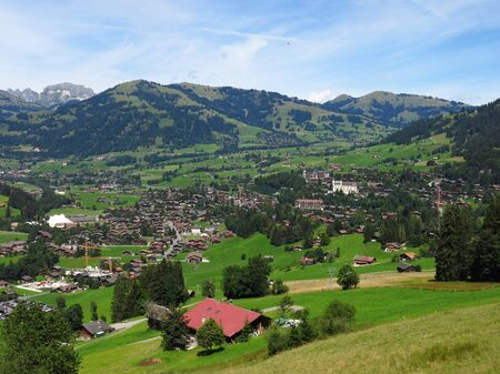 gstaad: Gstaad, famous village and holiday resort