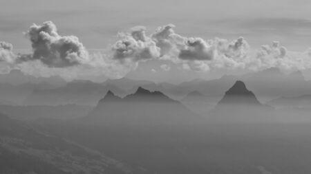 gr: Mythen, mountain in Central Switzerland