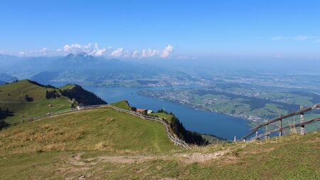 Lucerne, view from the Rigi photo
