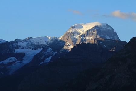 glarus: Toedi, highest mountain of Glarus