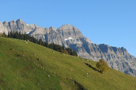 glarus: Glaernisch , high mountain in Glarus