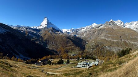 View on the way to the Gornergrat, Riffelalp and Matterhorn photo