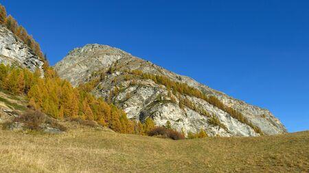 wallis: Autumn in Wallis Canton, Swiss Alps