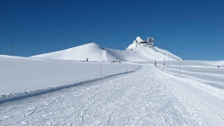 Topstation Glacier De Diablerets en skipiste