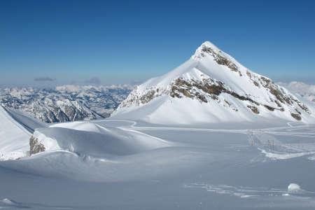 saanenland: Glacier De Diablerets, Oldenhorn