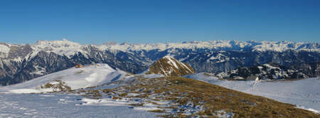 sargans: Panorama view from Pizol