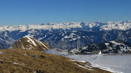 Ski Area: Great view from the Pizol ski area