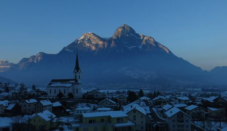 sargans: Evening in Sargans