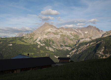 Evening in Gsteig bei Gstaad, Bernese Oberland