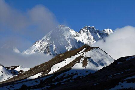 himalayas: Morning in the Himalayas