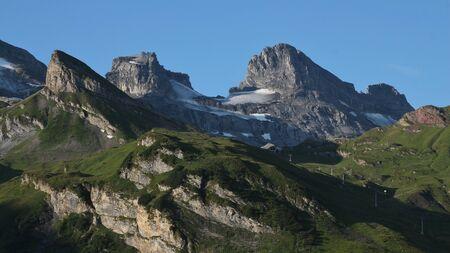 chair lift: High mountains and Jochpass chair lift