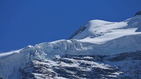 jungfraujoch: Jungfraufirn, glacier on the Jungfraujoch
