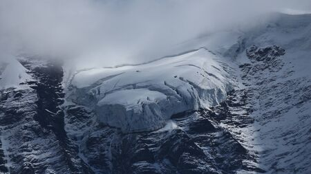jungfraujoch: Glacier tongue on the Jungfraujoch