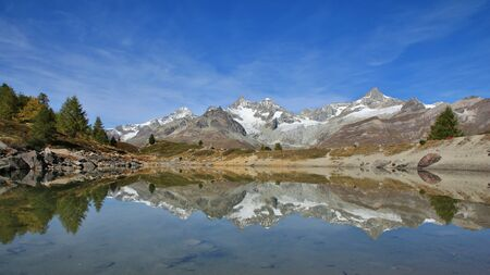 onset: Onset of autumn in Zermatt