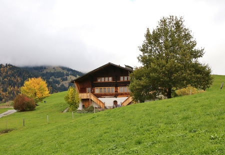 gstaad: Swiss chalet in Gstaad