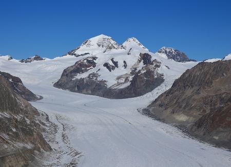 monch: Eiger and Aletsch Glacier