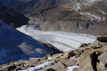 aletsch: Tongue of the Aletsch Glacier