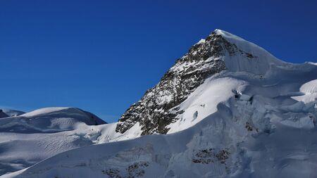jungfraujoch: Mt Rottalhorn seen from the Jungfraujoch