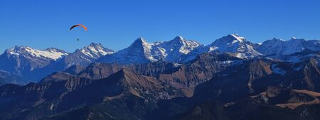 eiger: Famous mountains Eiger, Monch and Jungfrau