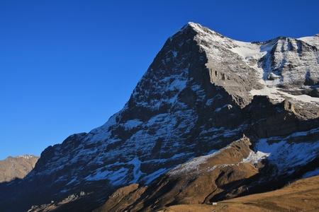 eiger: Eiger North Face, view from Kleine Scheidegg