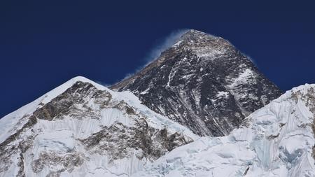 everest: Mt Everest in spring time