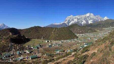 sherpa: Sherpa village Khumjung, Everest National Park