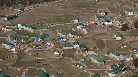 quake: Earth quake hit village Khumjung, Everest National Park