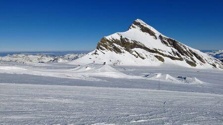 canton berne: Ski slope, fun park and Mt Oldenhorn