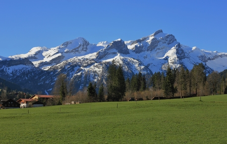 gstaad: Springtime in the Swiss Alps