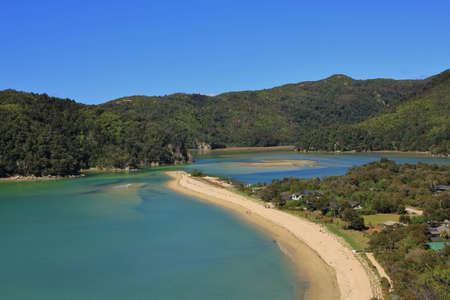 tasman: Torrent bay. Bay in the Abel Tasman National Park, New Zealand.