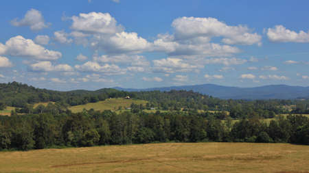 telegraph hill: Idyllic landscape in Telegraph Point. Rural scene in New South Wales, Australia.