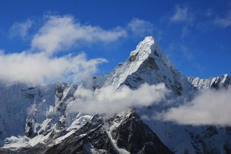 Scene in the Everest National park, Nepal.