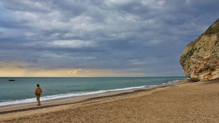 Moody sky over the Vesterhavet. Bulberg.