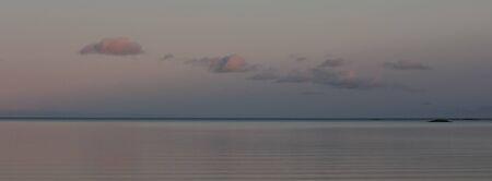 Panoramic view of Lake Vanern, Sweden. Standard-Bild
