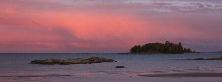 Bright lit clouds seen from Vita Sannar, Sweden.