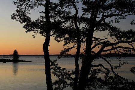 Morning scene in Dalsland, Sweden.