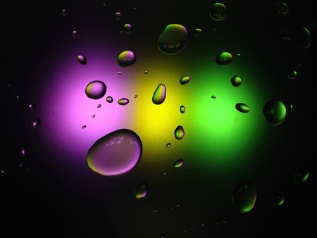 tri  color: Drop