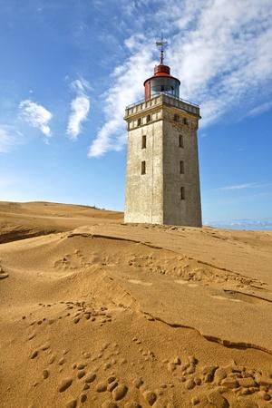 burried: Light house burried in Sand - Rubjerg Knude