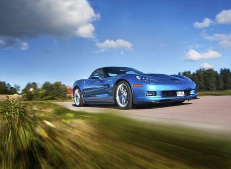 corvette: Chevrolet Corvette ZR1 Editorial