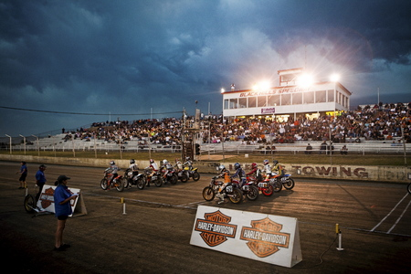 dirt track: Dirt Track Oval Racing Motorcycle