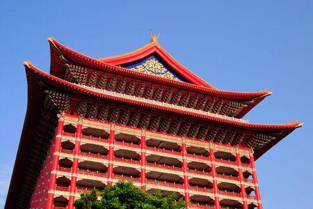 Landmark The Grand Hotel in Taipei,Taiwan.