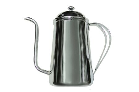 Stainless steel coffee pot   with path