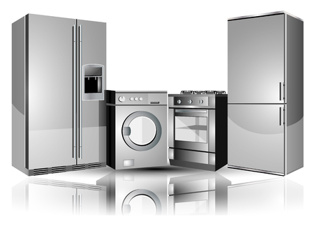 Home appliances Иллюстрация